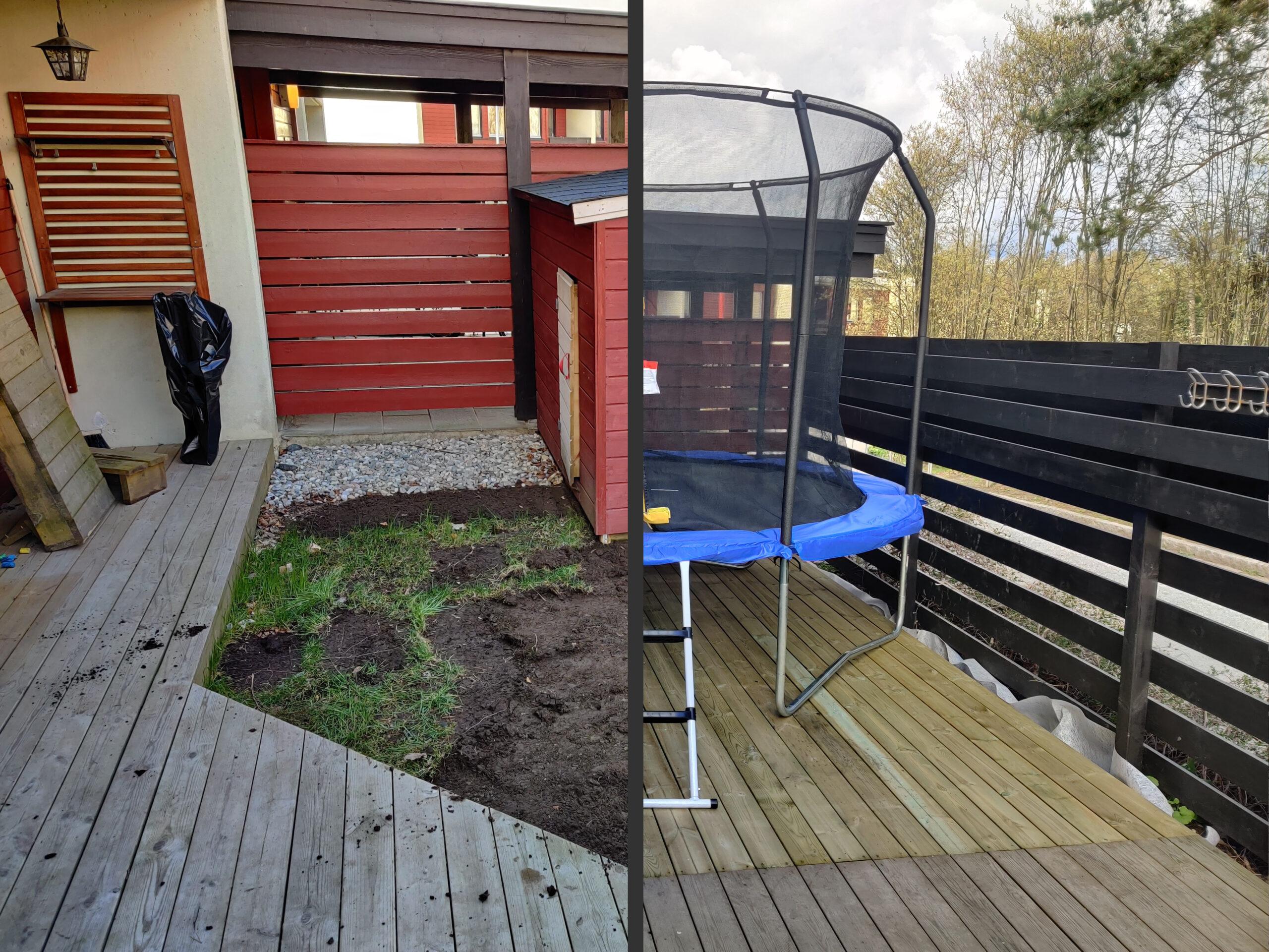 Featured image terrace build