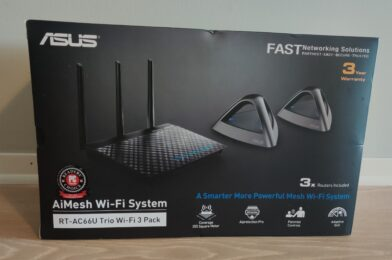 Installed a mesh WiFi network